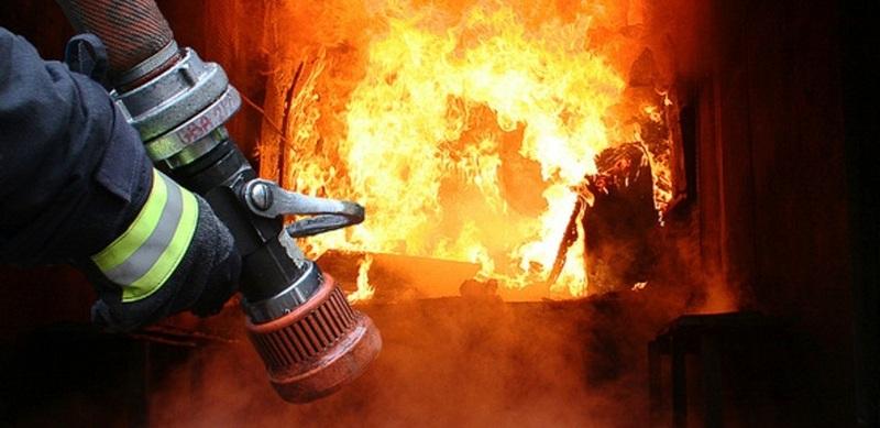 Пожежа виникла у кімнаті житлового будинку