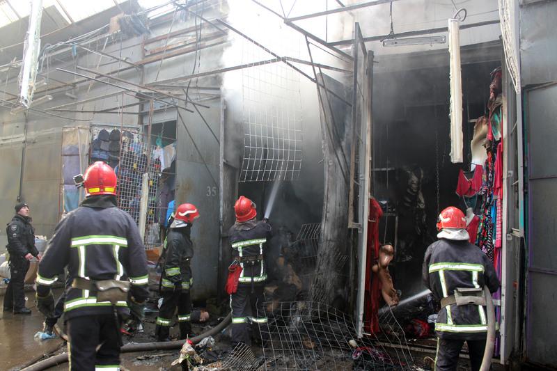 Загиблих та травмованих під час пожежі не було
