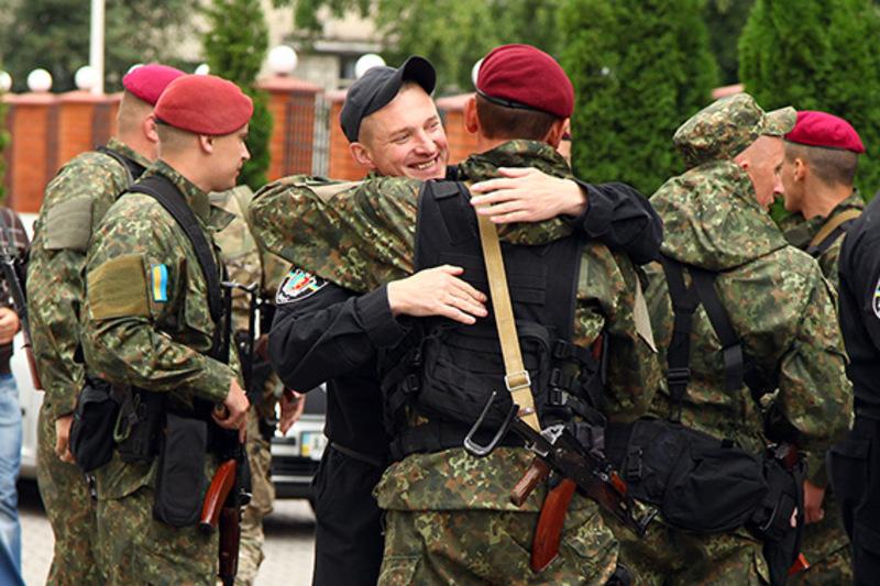 Бійці протягом місяця служили в зоні проведення антитерористичної операції