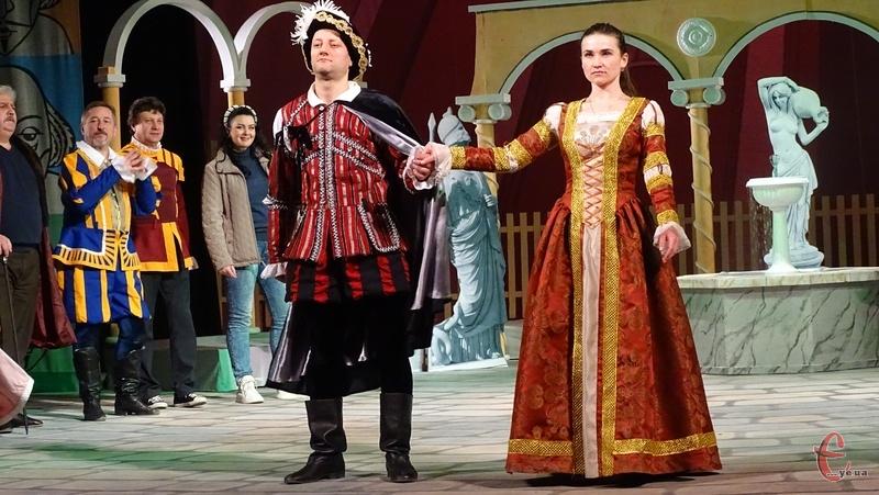 Творчий колектив представить глядачу виставу за п'єсою Вільяма Шекспіра -