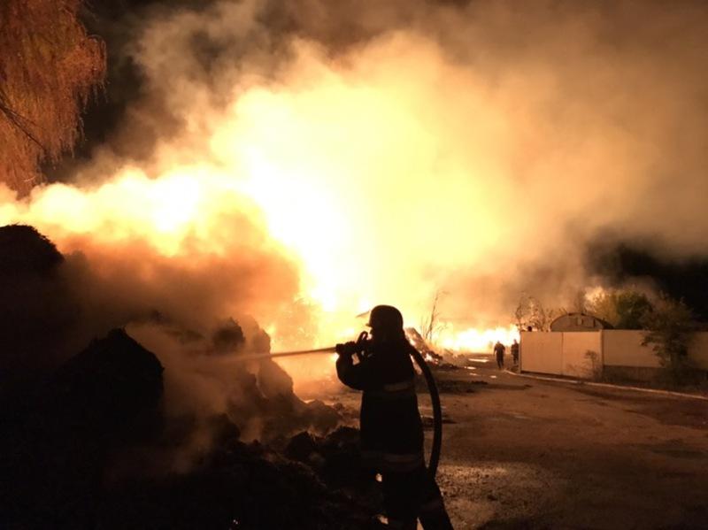 Пожежу вдалося загасити близько першої години ночі.