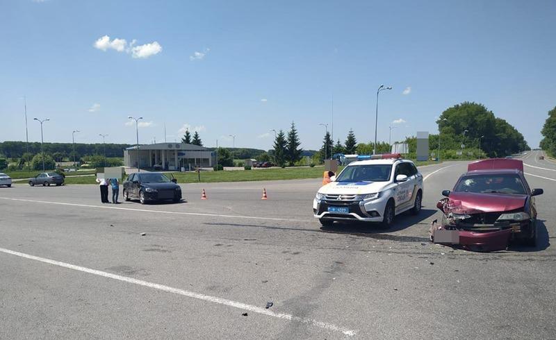 У ДТП травмувалась пасажирка одного із автомобілів
