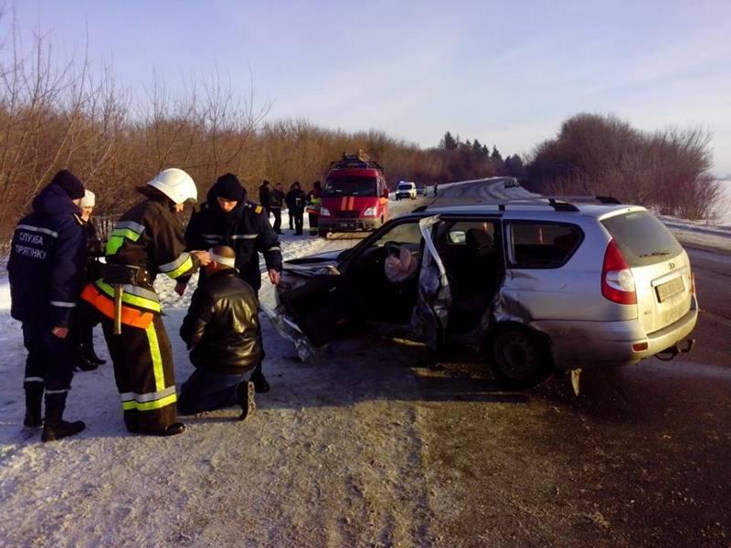 ДТП сталася на автодорозі у Красилівському районі
