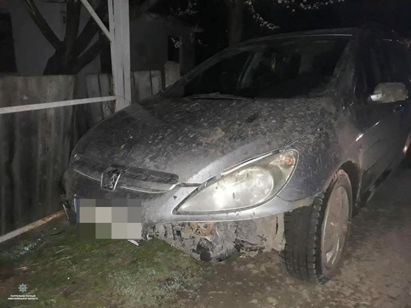 Патрульні зупинили водія, що ймовірно незаконно заволодів транспортним засобом