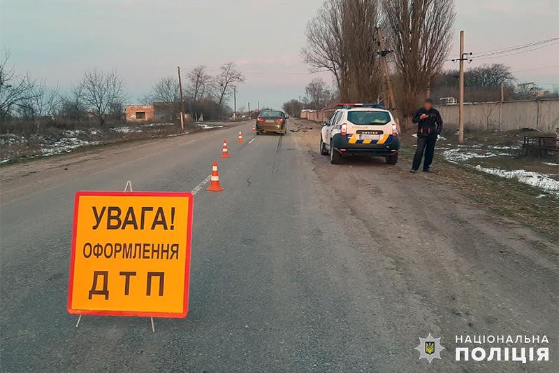 У ДТП в Старосинявському районі травмувався велосипедист