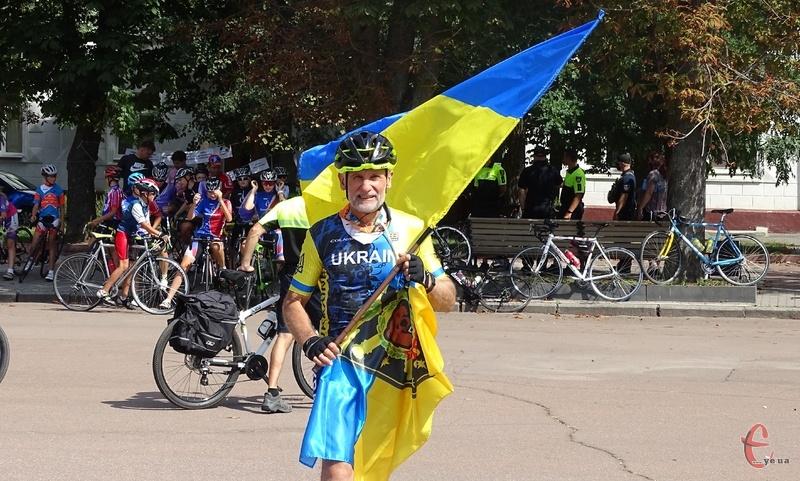 У команді велосипедистів два учасники бойових дій в Афганістані і два учасники бойових дій в зоні АТО