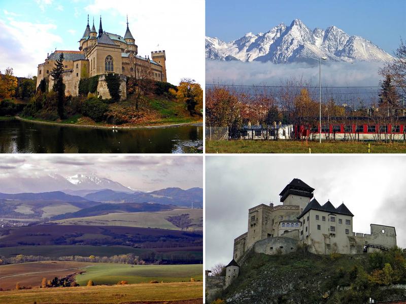 Гори і замки - достоїнства Словаччини