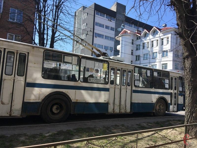 Через омолодження дерев на вулиці Кам\'янецькій 23 і 24 січня з 8.00 до 16.00 буде змінено рух тролейбусів