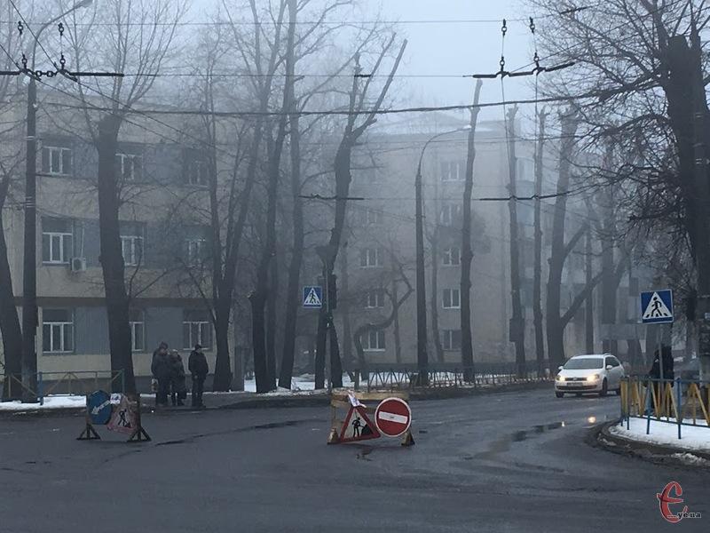 На Тернопілській віновлять рух транспорту