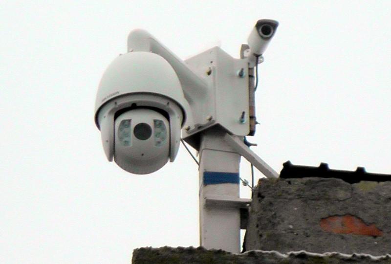 За порядок на вулицях міста слідкують чотири камери відеоспостереження