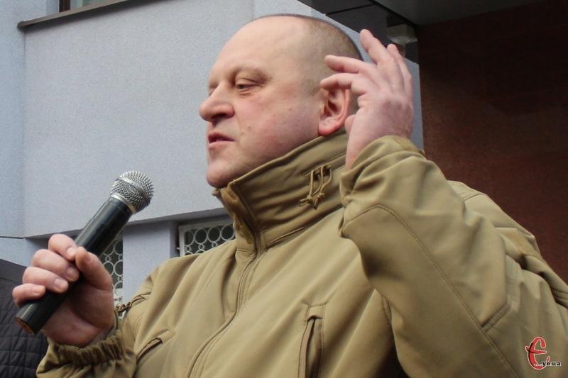 Управління Служби безпеки України в Хмельницькій області Сергій Харченко очолює з 2016-го року