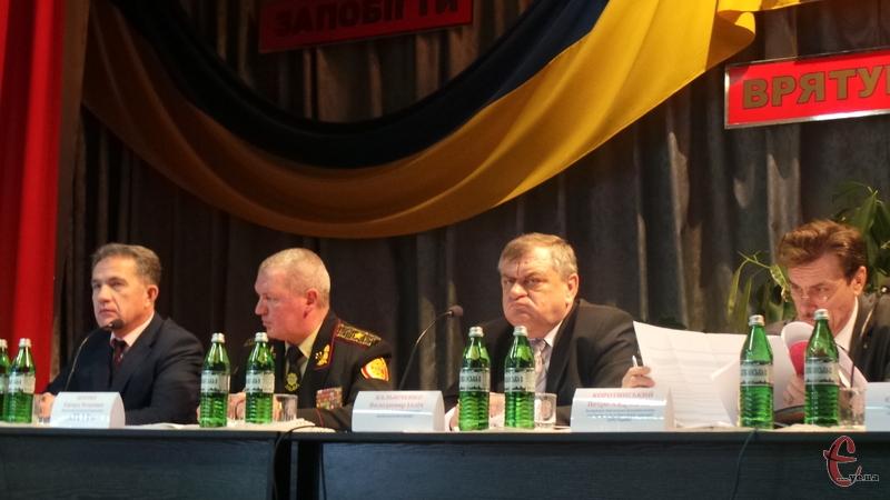 В Головному управлінні ДСНС області підвели підсумки роботи