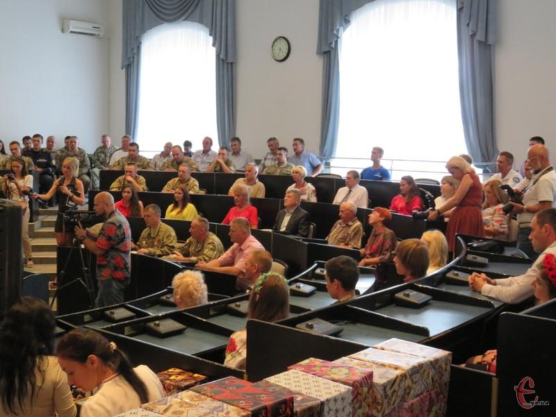 Нагородження відбулося напередодні Дня Незалежності України.