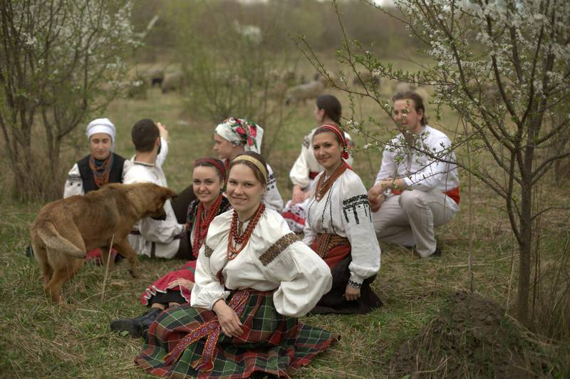 Організатори фестивалю - фольклорний гурт