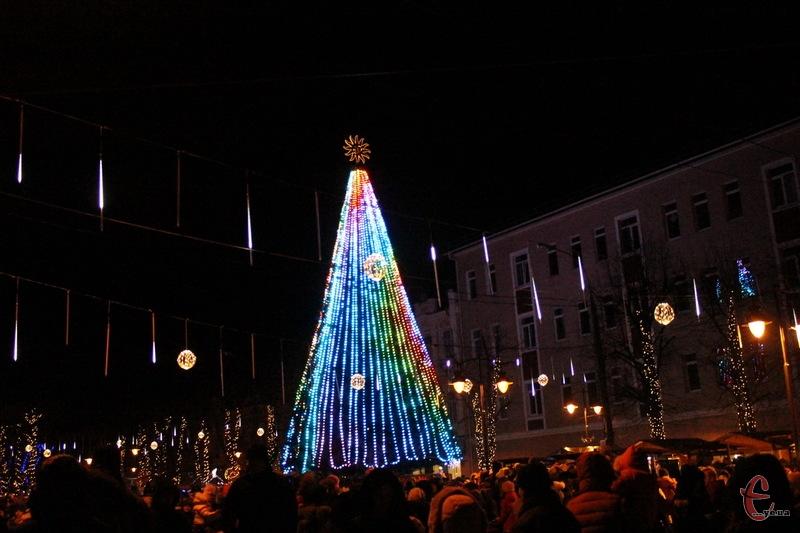 Новорічно-різдвяні заходи в Хмельницькому триватимуть до 19 січня