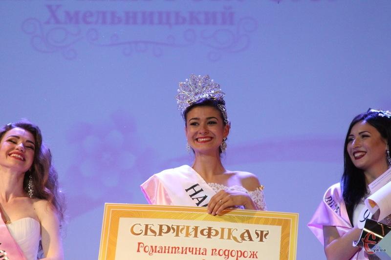 Відтепер Ілона Табенська має право взяти участь у фіналі всеукраїнського конкурсу Наресена року
