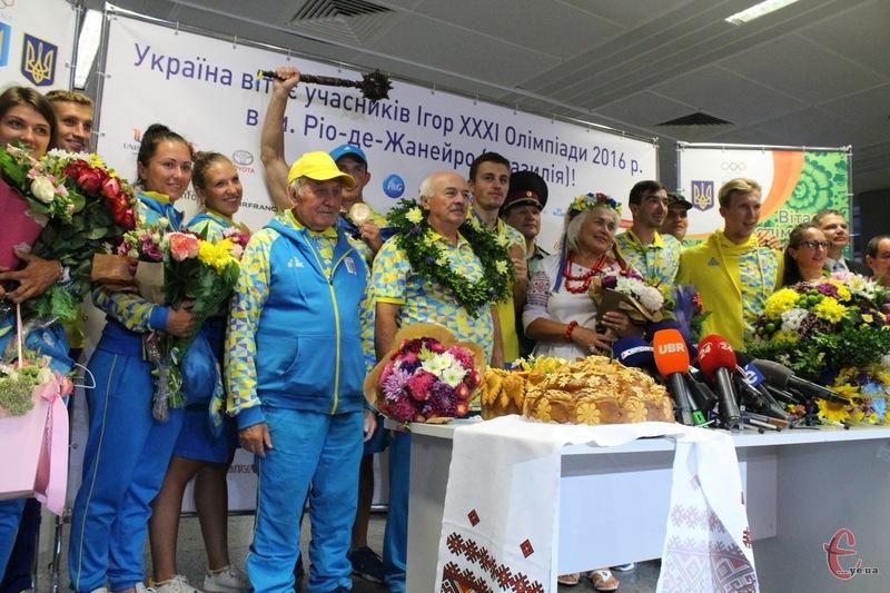 Українські веслувальники привезли з Олімпійських ігор у Ріо золоту та бронзові нагороди