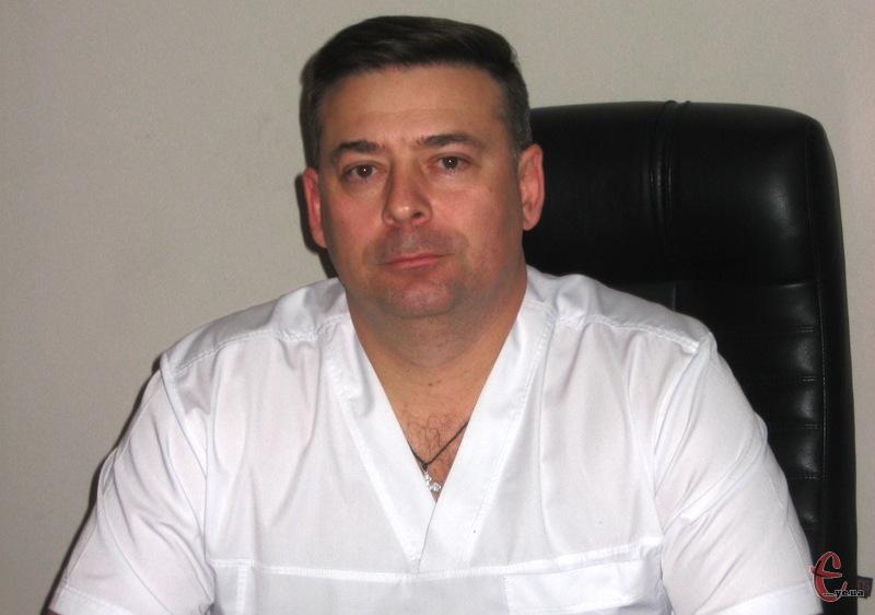 Головний лікар Хмельницького обласного онкологічного диспансеру В'ячеслав Мороз