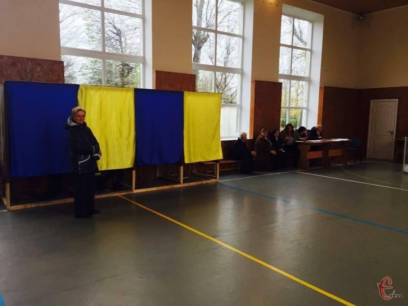 У Городку вибори минули спокійно