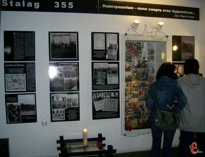Для більшої обізнаності хмельничан в історії свого міста та для вшанування пам'яті полеглих не лише в бойових діях, а й у німецьких концтаборах, у музеї історії міста Хмельницького відкрилася постійнодіюча експозиція Stalag 355