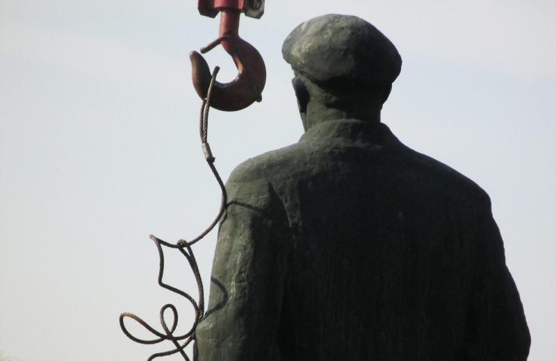 Погруддя Леніна демонтували на початку квітня
