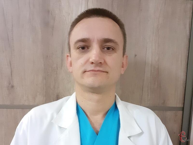 Ортопед-травматолог Хмельницької обласної лікарні Ігор Курило