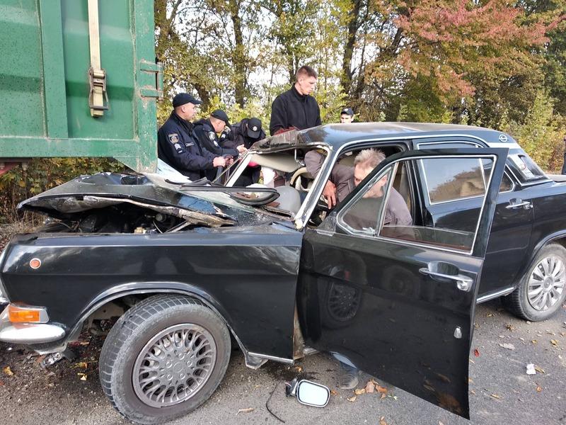 Аварія сталася неподалік Дунаївців