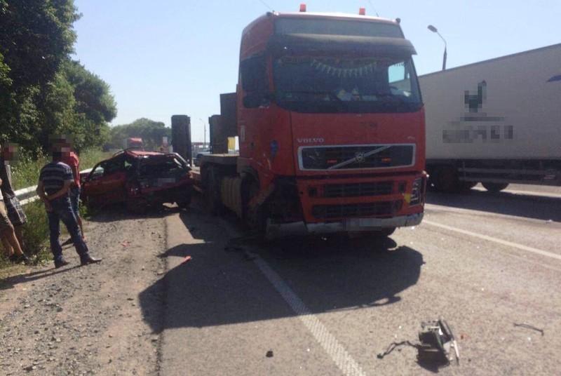 Аварія сталася поблизу села Малиничі