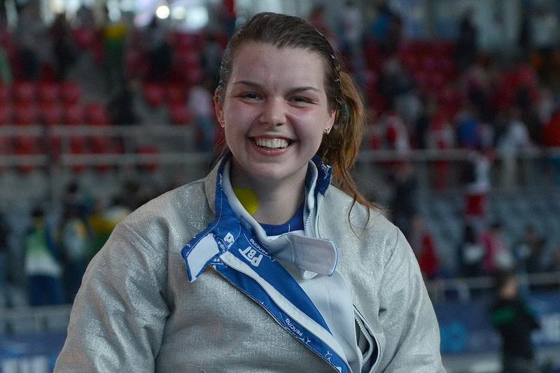 Аліна Комащук в складі збірної України на етапі Кубка світу здобула срібну нагороду