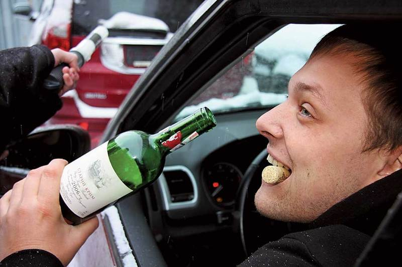 Минулого року в Хмельницькому притягнули до відповідальності понад 900 водіїв, які керували авто в стані сп'яніння