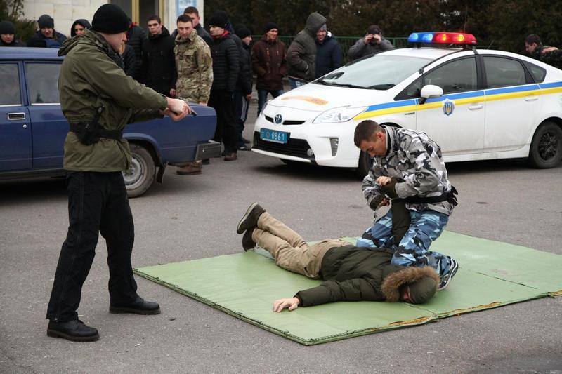 За два місяці нові поліцейські опанували 25 дисциплін