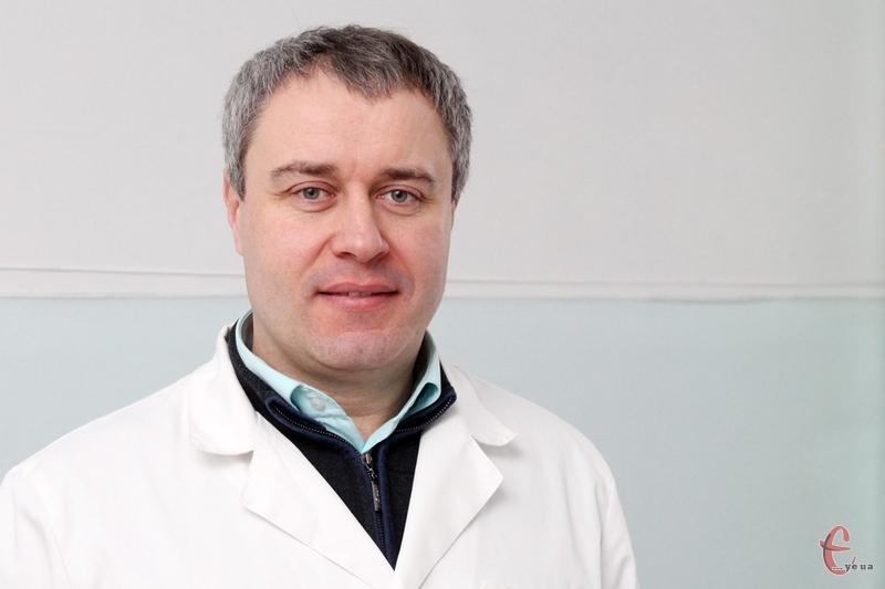 Олександр Білик, лікар-уролог Хмельницької поліклініки №1
