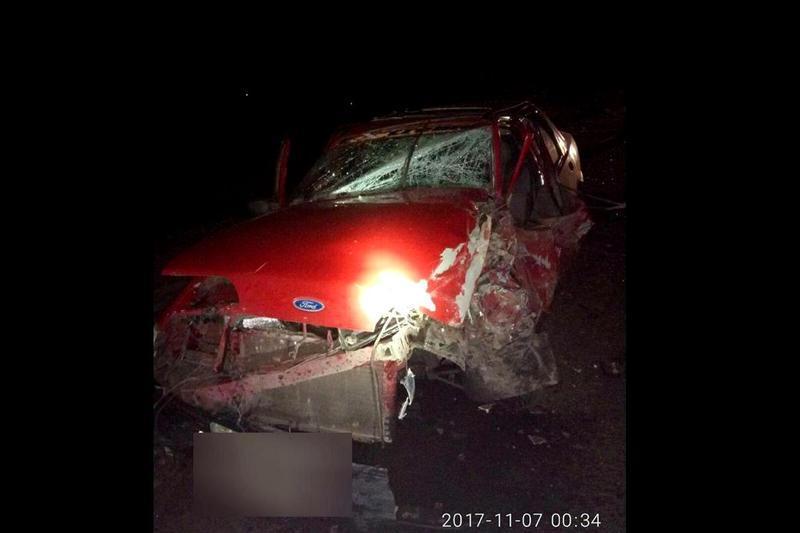 В автомобілі «Ford» перебував чоловік з 4-річним сином