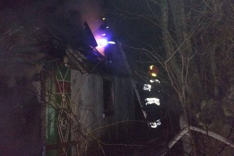Під час пожежі в житловому будинку загинув його власник