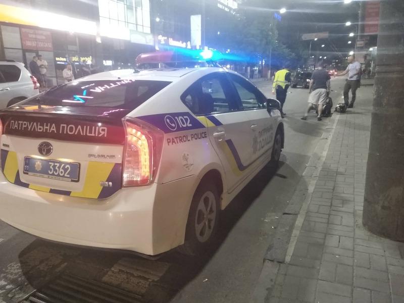Вночі на вулиці Кам'янецькій сталося дві ДТП з потерпілими