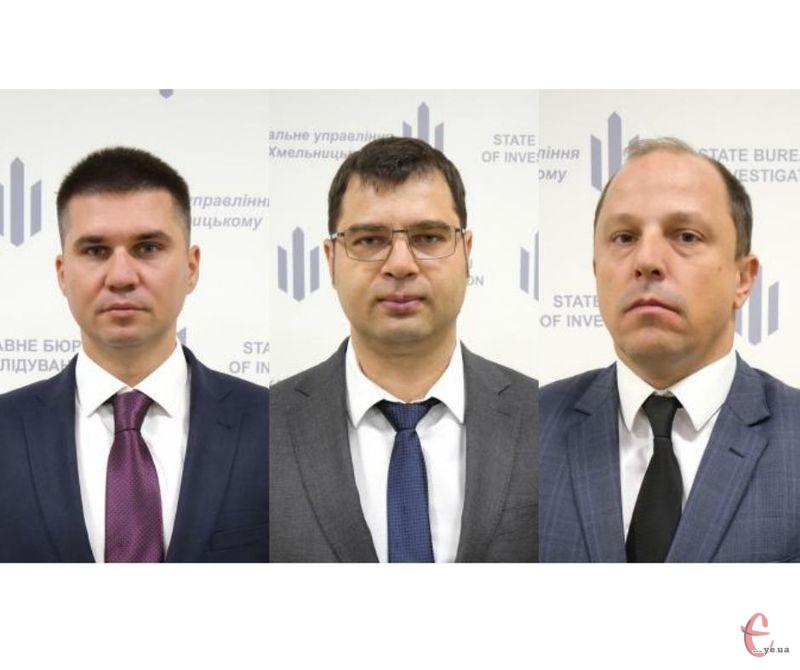 З ліва на право — Владислав Васильєв, Олександр Томусяк, Олександр Мельников