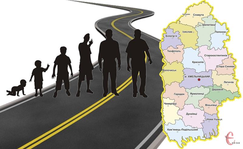 Основним фактором зменшення чисельності населення Хмельницької області залишається його природне скорочення
