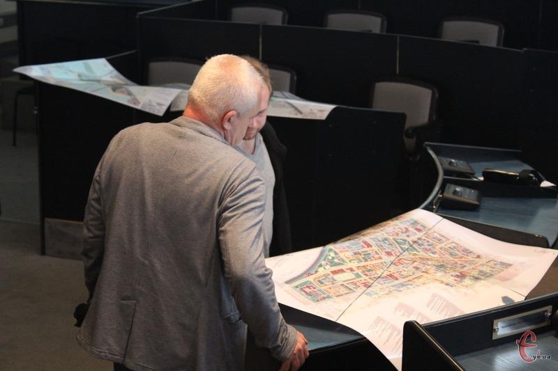 Усі майбутні зміни занесені у «Детальний план території центральної частини міста»