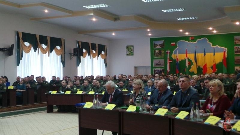 На конференцію зїхались українські військові-науковці