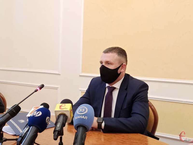 Сьогодні відбулася перша пресконференція Сергій Гамалія на посаді голови ОДА