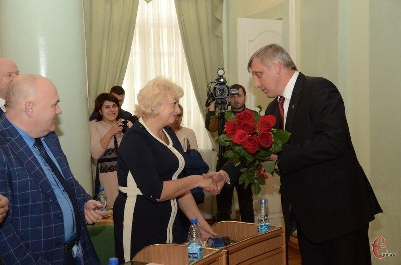 Майже всі підтримали Михайла Загородного, привітавши з новою посадою