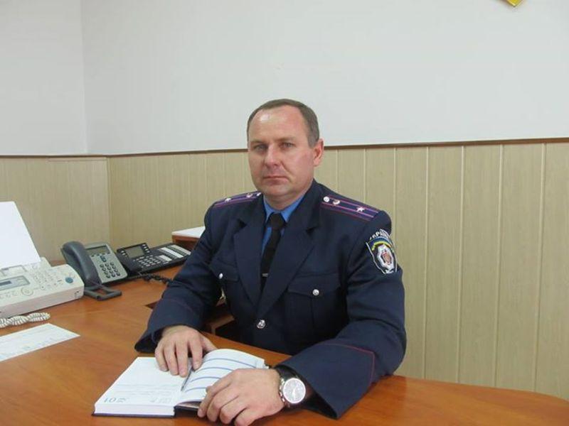 """Володимир Калашнік: """" тут такий самий працівник як дільничий, тільки на посаді начальника""""."""