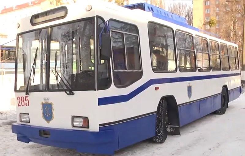 Тролейбус виїде на вулиці міста за кілька днів