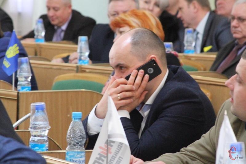 Запит Олександра Драгана набрав 50 голосів