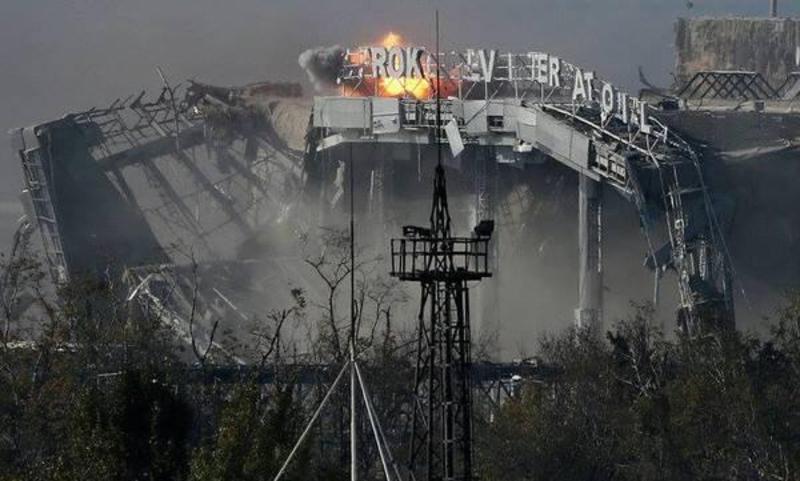 Бої за Донецький аеропорт розпочалися в ніч з 25 на 26 травня 2014 року