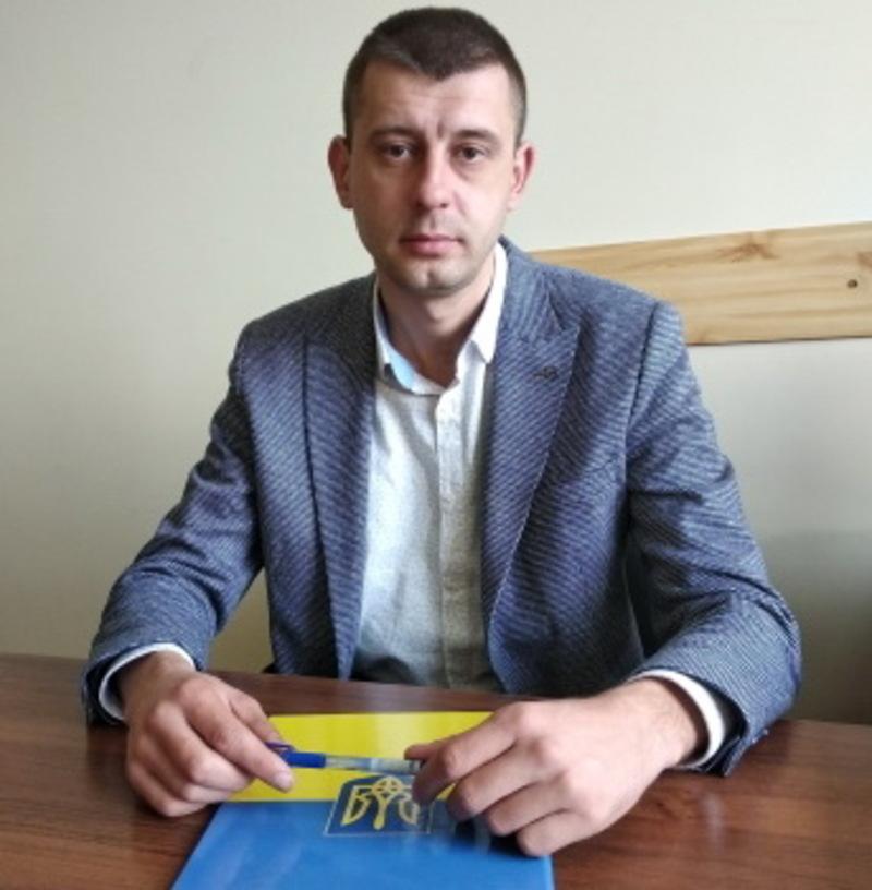 Андрій Полудняк очолює Держрибагентство у Хмельницькій області з 20 квітня 2018 року