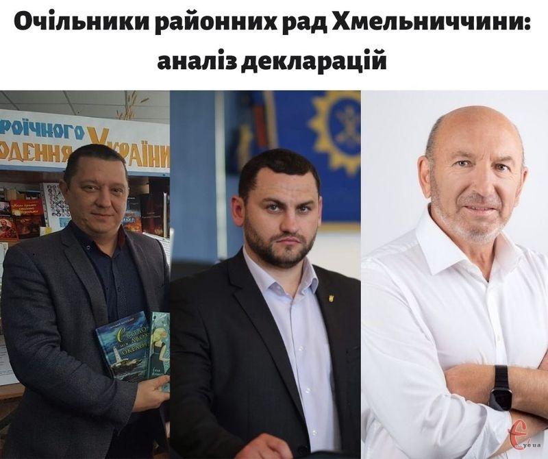 З права на ліво - Олег Кулінський, Олександр Чорнієвич, Михайло Сімашкевич