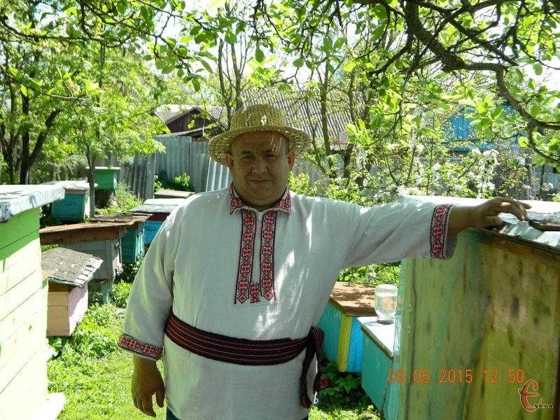 Бджільництвом Микола Іщук займається 15 років, цілительством – 5.