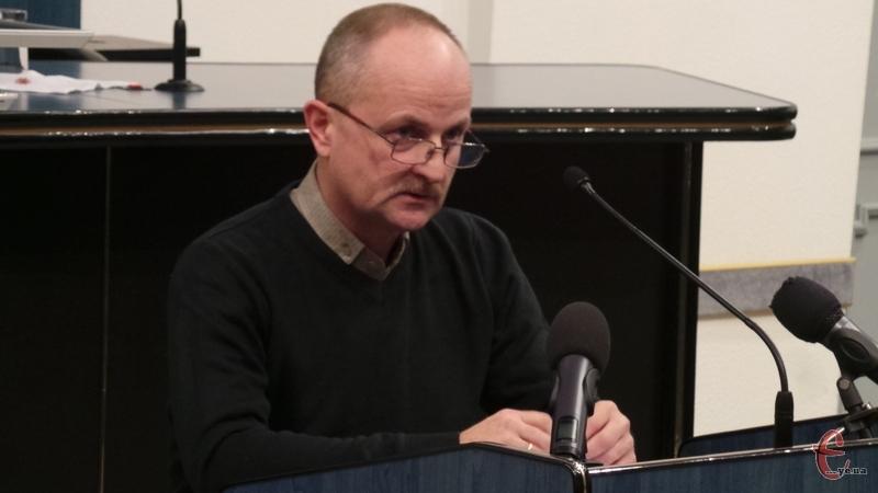 Очільник управління молоді та спорту міської ради Сергій Ремез