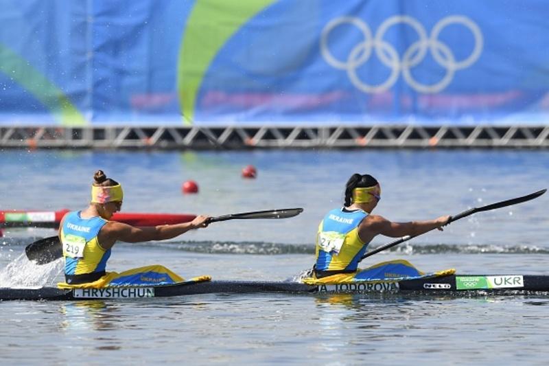 Інна Грищун та Анастасія Тодорова показали високий результат на Олімпіаді, посівши четверте місце